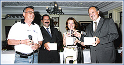 El Kantaoui at the 2007 prize-giving of Malta-Tunisian Phoenician Experience